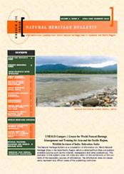 UNESCO C2C Nature Heritage Bulletin